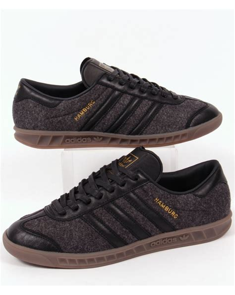 Kickers Gum Sole Black adidas hamburg trainers black black gum mens originals