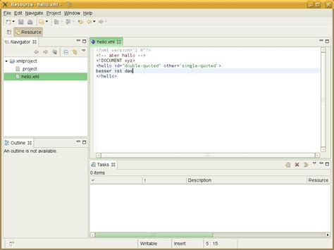 xml template editor smartit eclipse demos and exles