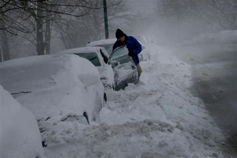 the biggest blizzard blizzard is fifth largest monday s commute was rough