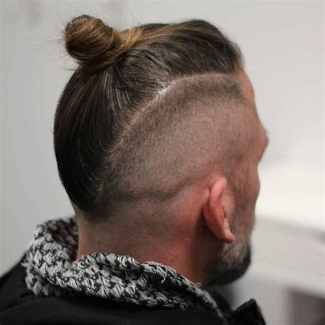 shave sides man bun 20 man bun styles for not your next door guy
