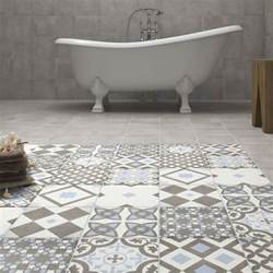 Patterned Floor Tiles Why Do Patterned Tiles Work So Well In The Bathroom