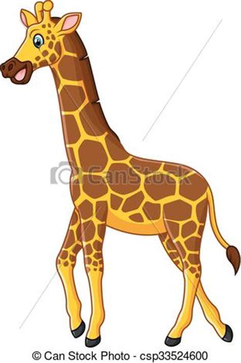 ilustraciones vectoriales de jirafa caricatura vector vector clip art de lindo jirafa caricatura vector