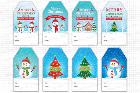 design printable gift tags christmas gift tags printable christma design bundles