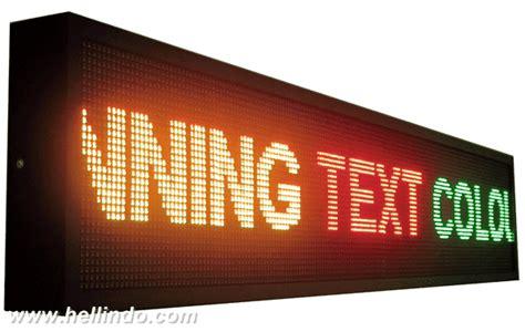 Led Untuk Running Text videotron dan running text murah medan sumatera utara