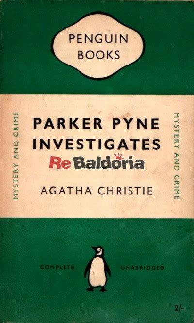 parker pyne investigates agatha christie penguin libreria re baldoria