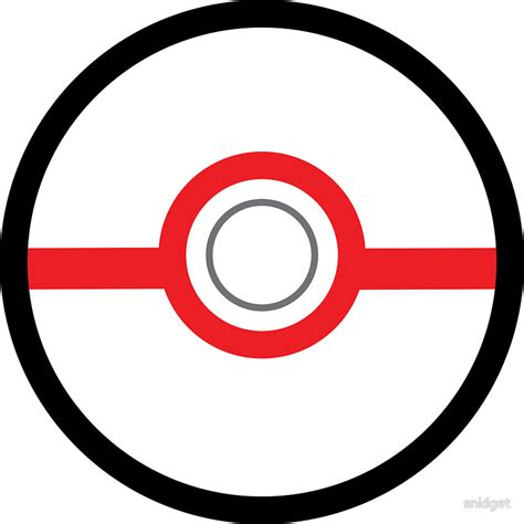 Target Wall Art Stickers quot premier ball pokeball quot stickers by snidget redbubble