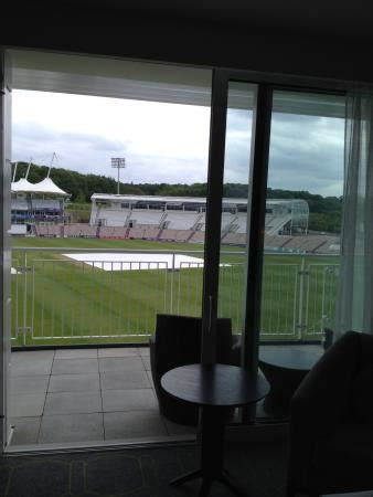 Hiltons Stand In by Hotel From The Shane Warne Stand In The Ground Picture