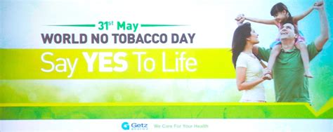 say no day 23 wonderful world no tobacco day poster images