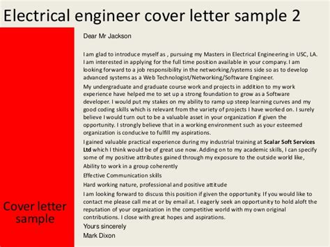 Electrical Engineer Cover Letter by Page Not Found The Dress