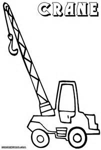 crane coloring page coloring home