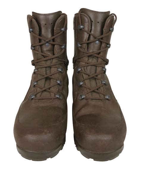 ex army brown combat boots s haix scout