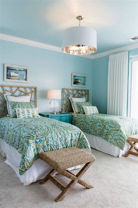 turquoise color for bedroom 391 best images about cute twin bedrooms on pinterest