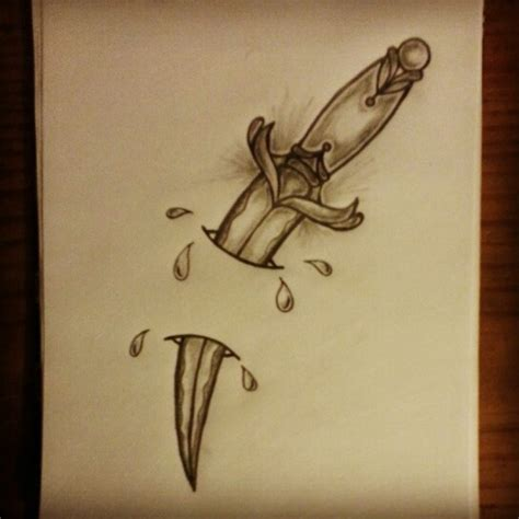 tattoo drawings designs and sketches dagger sketch by ranz dagger