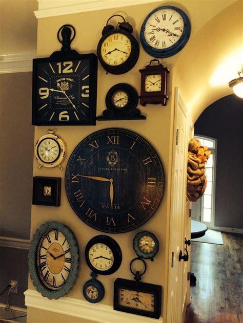 wall clock ideas best 25 wall of clocks ideas on pinterest wall clock