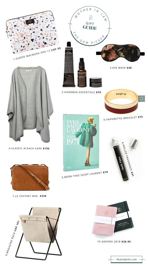 christmas gift guide for your mother in law the gem picker