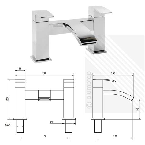 Bathroom Tap Accessories Arian Poppy Modern Curved Bathroom Bath Filler Tap In Chrome With Accessories