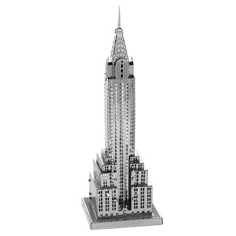 chrysler building tours fascinations metal earth 3d metal model diy kits