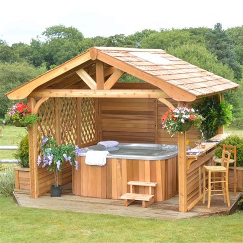 spa gazebo tub and garden gazebos and swim spa gazebos