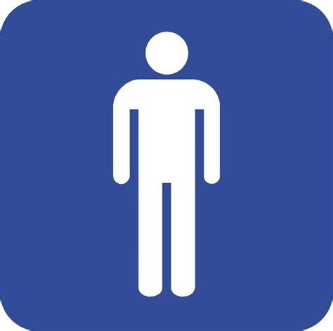 bathroom man man bathroom sign clipart best