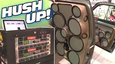 iraggi  turned   custom fiberglass door panels crazy car audio speaker pods youtube