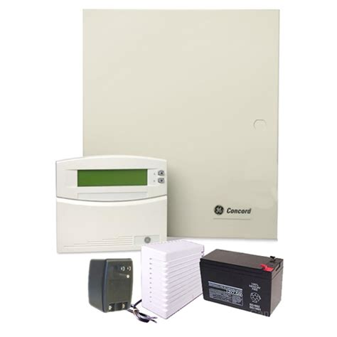 ge concord4 ge concord 4 alarm system with atp1000 lcd
