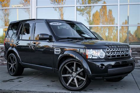 used land rover lr4 pre owned 2013 land rover lr4 hse sport utility in
