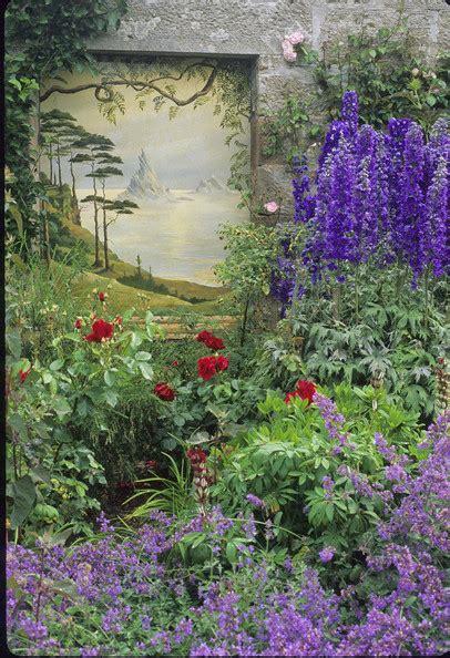 Flowerbed Photos 51 Of 148 Lonny Garden Mural Ideas