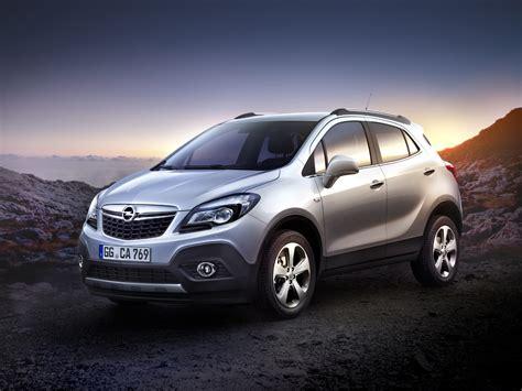 opel vauxhall mokka crossover revealed autoevolution