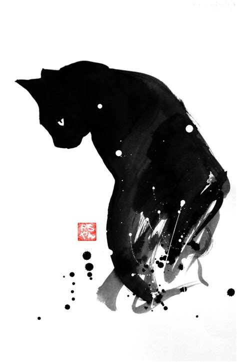 cats  sumi  art people gallery