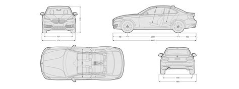 car dimensions in bmw 2 series sizes and dimensions guide carwow