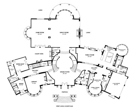 aaron spelling mansion floor plan mansion house plans 10000 sq ft cottage house plans