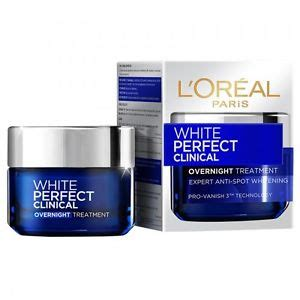 Loreal White Clinical l oreal white clinical overnight treatment