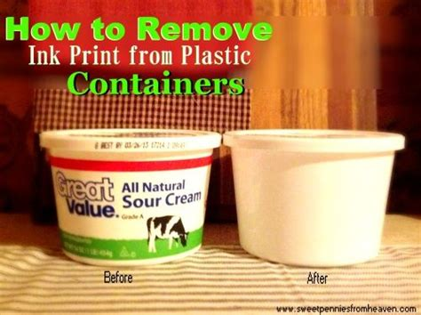 Remove Ink From by How To Remove Ink From Plastic Containers Now I Can