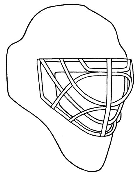 Printable Goalie Mask | design your own goalie mask chicago blackhawks coloring