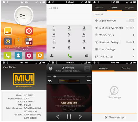 customize themes in miui 7 install miui 3 cm7 on galaxy y s5360 custom firmware