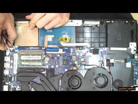 lenovo y50 70 fan lenovo y50 70 disassembly and fan cleaning laptop repair