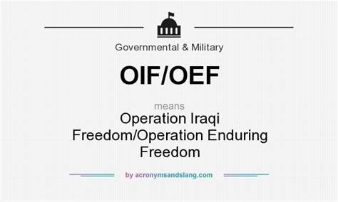 operation enduring freedom definition what does oif oef mean definition of oif oef oif oef