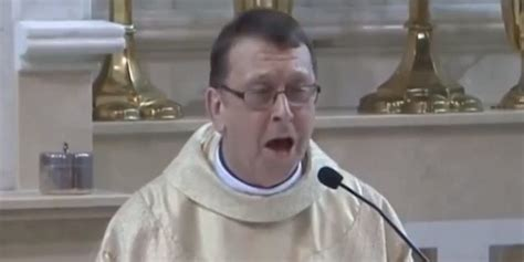 Priest Sings Surprise Version Of 'Hallelujah' At Wedding