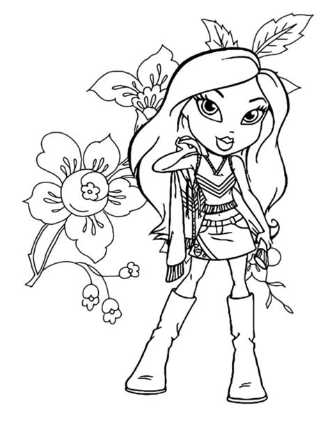 bratz coloring book bratz coloring pages printable for coloringstar