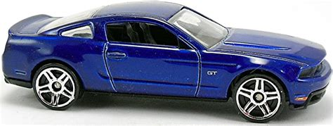 Hotwheels 2010 Ford Mustang Gt 2010 ford mustang gt 73mm 2009 wheels newsletter
