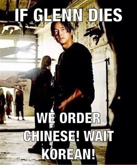 Glenn Walking Dead Meme - walking dead meme