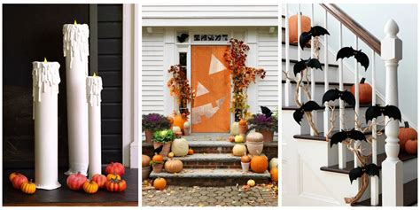easy at home halloween decorations 40 easy diy halloween decoration ideas homemade halloween decor projects