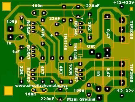 amp images  pinterest audio circuit