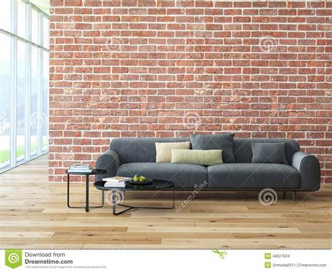 mattoncini da interno interno sottotetto con il muro di mattoni ed il