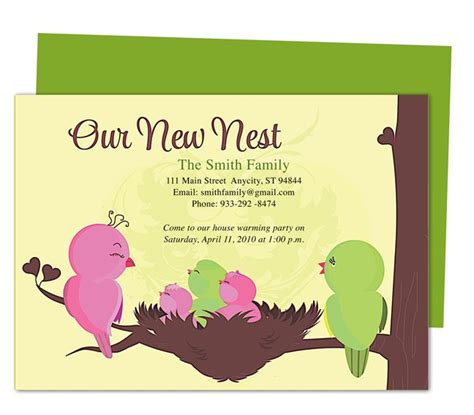 moving house cards template 14 best images about moving announcements new address