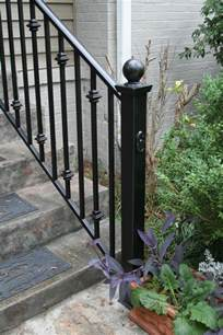 Outdoor Metal Handrail Iron Stair Railing Stair Case Design