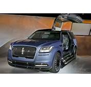 2018 Lincoln Town Car The New Navigator Concept Wow