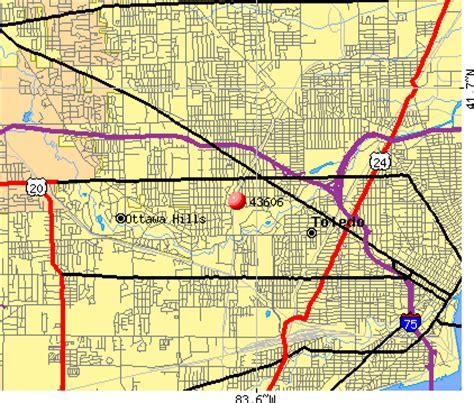 zip code map toledo ohio download free map of toledo ohio zip codes