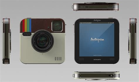 industrial design instagram accounts instagram socialmatic camera concept design is pretty
