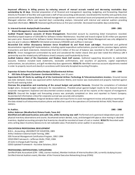 senior controls analyst auditor houston tx